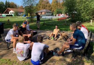 Rennbesprechung der Humboldtschule Hannover